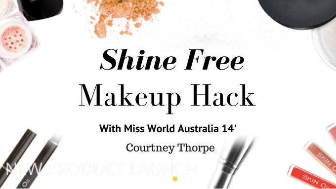 Shine Free Makeup with Courtney Thorpe