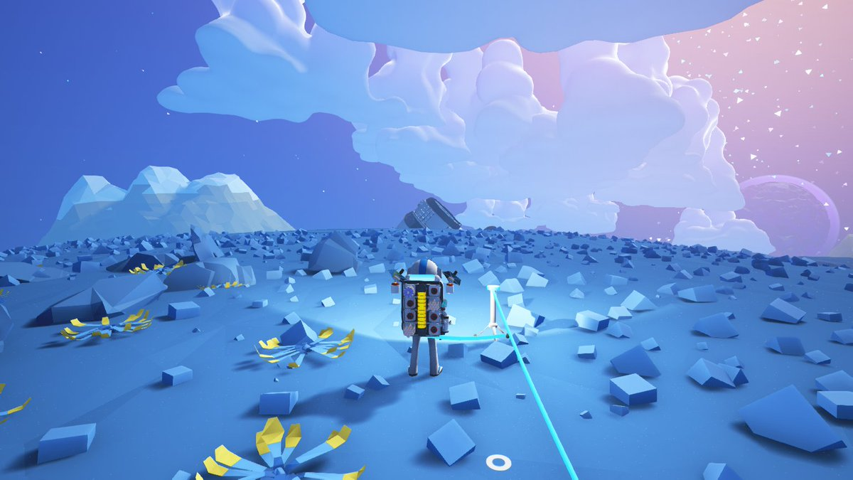 A crash site! What loot is in store for us?   @astroneergame #Astroneer #IndieGame #PreAlpha #Loot #CrashSite<br>http://pic.twitter.com/MlYMQAqhrL
