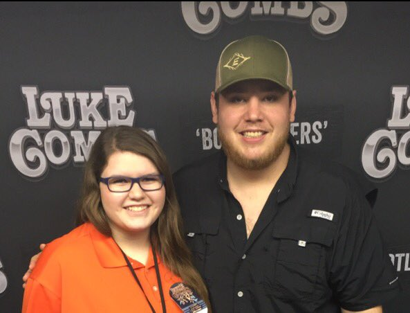 Luke combs on twitter thanks for coming to the meet and greet luke combs on twitter thanks for coming to the meet and greet it goes to a great cause m4hsunfo