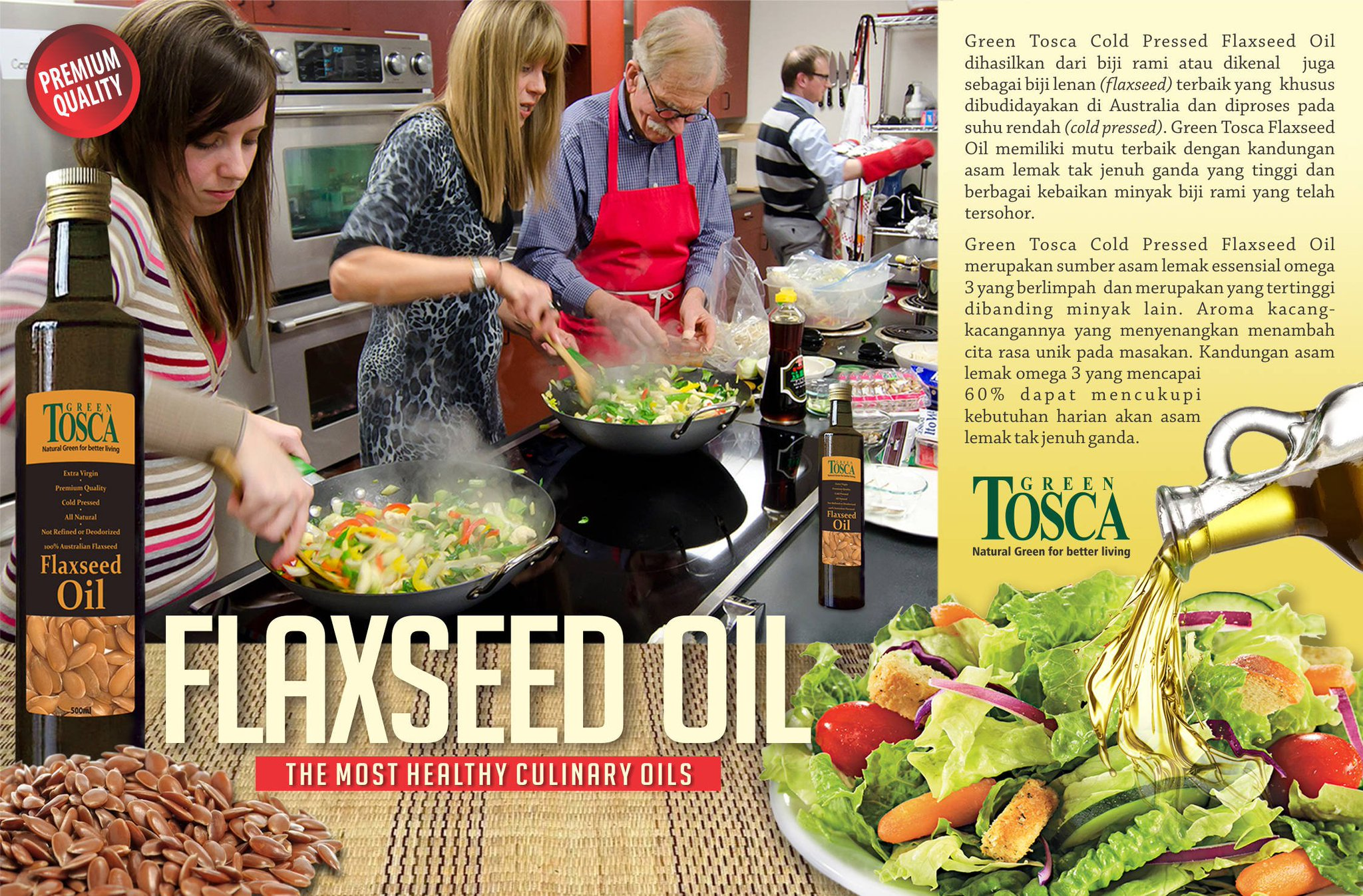 Minyak Green Tosca On Twitter Flaxseed Oil Is The Only Plant Oil Containing More Than 60 Omega 3 Fatty Acd Take It As Your Daily Supplement Https T Co Eo3usnkgzs Https T Co K9q1nyuj8e