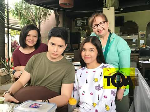 Cuties on taping.. Smiles that makes our afternoon Right! #BeSi #ALDUB #AlMaine #ALDUBxDTBYBiroNgTadhana<br>http://pic.twitter.com/TNTybyhCsy