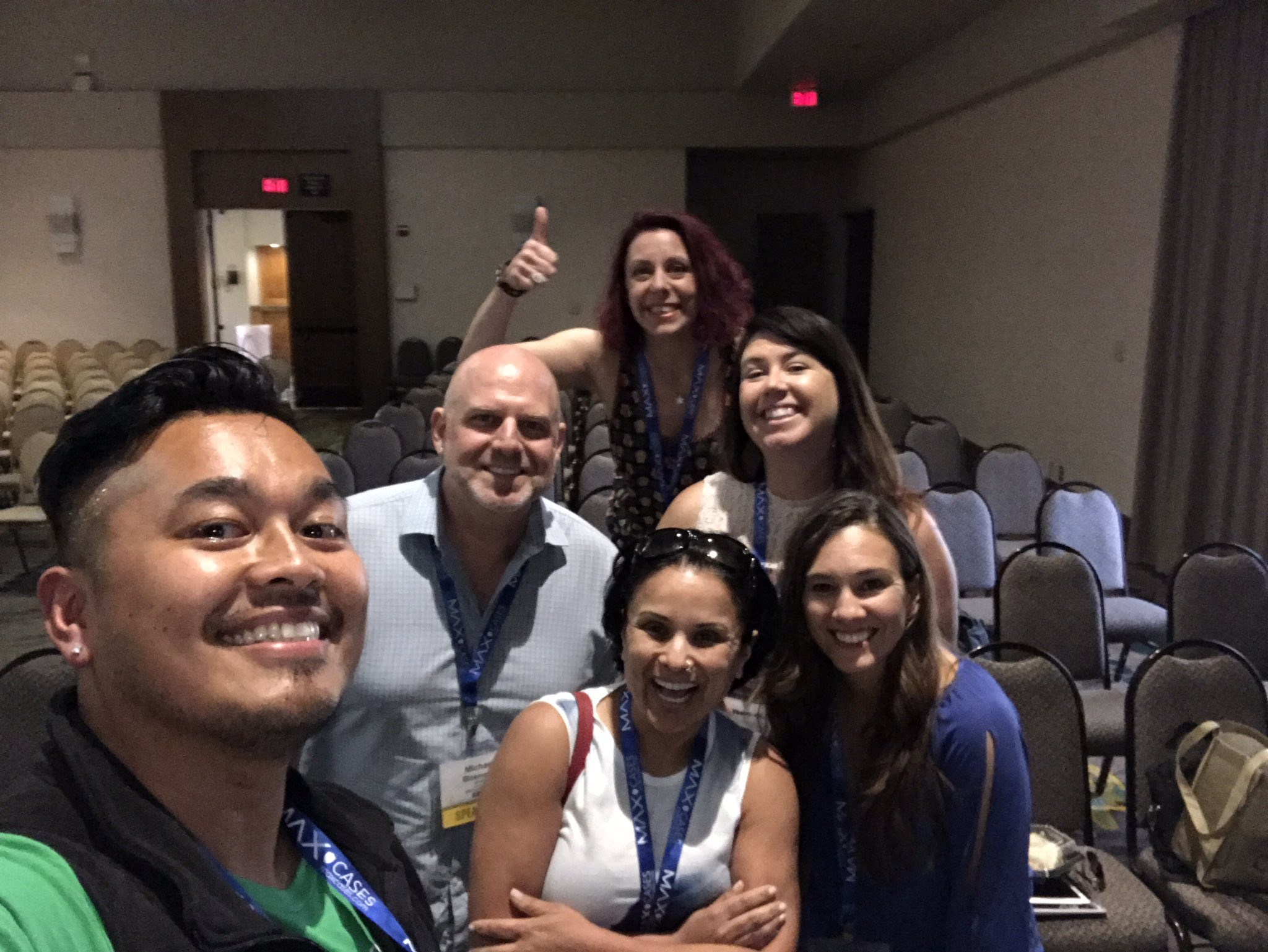 With a group like this, you can use #designthinking to achieve anything. #cue17 wrap up session for the day. @CUESanFrancisco supporting! https://t.co/0xKaLJ7gyx