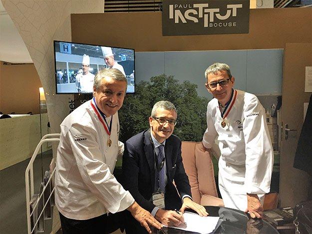 """institut paul bocuse on twitter: """"cap cuisine signé"""