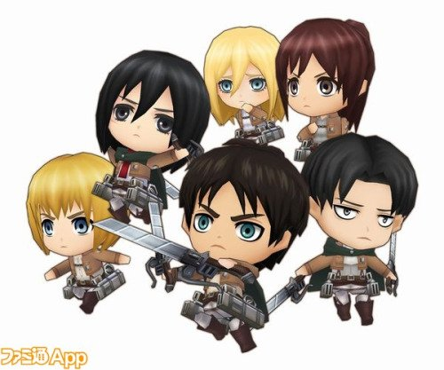 Attack On Titan Wiki On Twitter Official Character Avatars Of Eren Mikasa Armin Levi Sasha And Christa Revealed For Attack On Titan X Chain Chronicle Collaboration Https T Co Ouc5wsgjlb