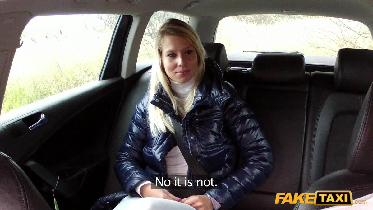 Fake taxi czech