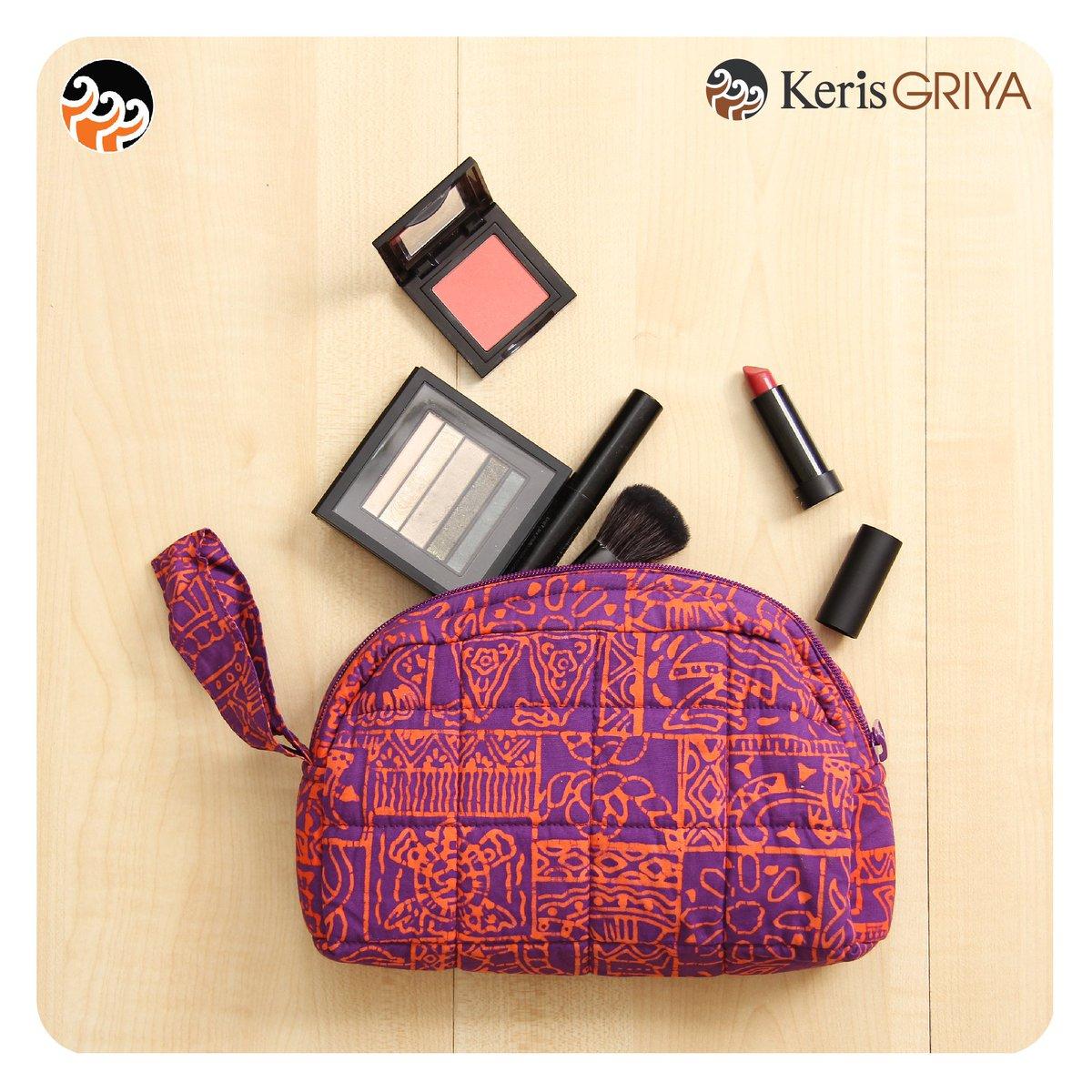 Batik Keris On Twitter Dompet Kosmetik Koleksi Griya By Sangat Nyaman Buat Dibawa Traveling Atau Untuk Aktivitas Sehari Hari