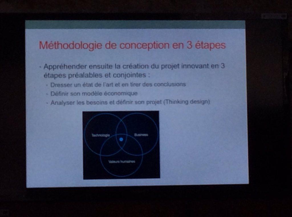@MichelAgnola @univ_paris13 @IDEFICreaTIC l'innovation est à l'intersection de 3 facteurs : valeurs humaines, viabilité économique et techno https://t.co/FypMEe5joN
