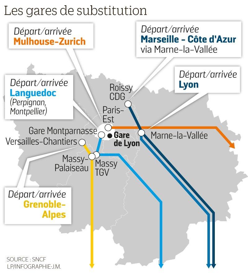 Le Parisien Infog On Twitter Fermeture De La Gare De Lyon Les