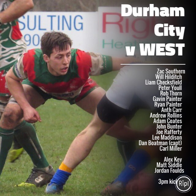West Hartlepool Rfc On Twitter The 1sts Travel To Durhamcityrfc