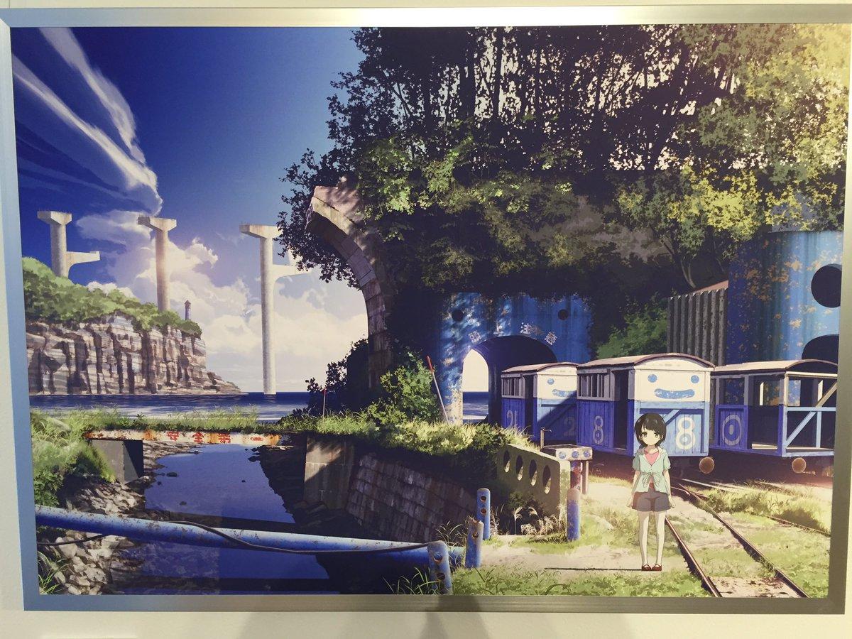 スチームパンク東方研究所 Tren Twitter ビジュアル背景資料の監修をしていただいた 東地和生さんの作品展に行ってきました 幻想的で美しい 背景画の数々 3331アーツ千代田で3 28まで開催中