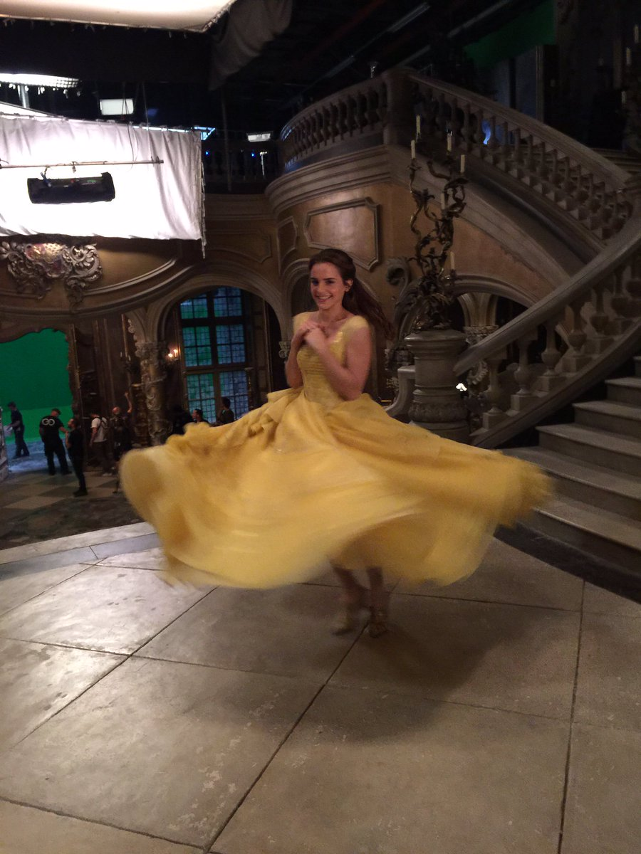 #BeautyAndTheBeast opens today! I hope you have as much fun watching it as I did making it. Love, Emma 🌹 @beourguest