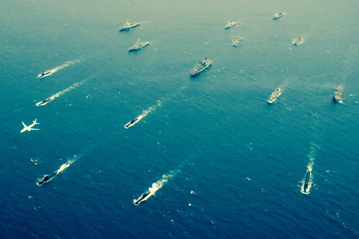 Shot from Dynamic Manta - NATO's anti-submarine warfare exercise in the Central Mediterranean