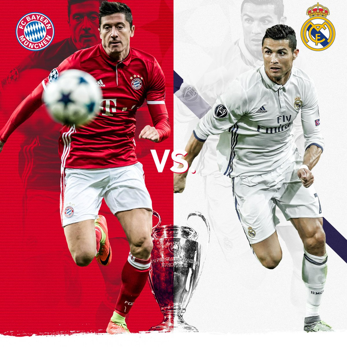 Bayern Muenchen vs Real Madrid
