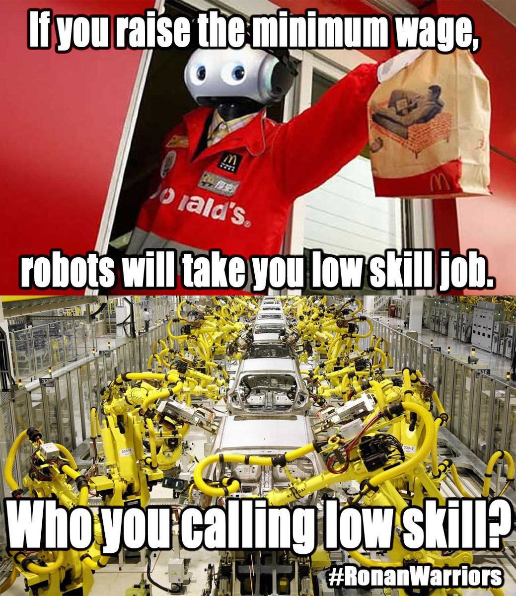 bluestatebandit on the argument against fightfor bluestatebandit on the argument against fightfor15 robots will take your low skill jobs but they already took all the high skill jobs