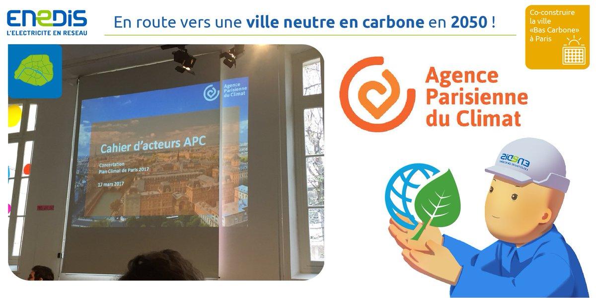 #EnDirect: @enedis et @AparisClimat travaillent main dans la main pour un #Paris neutre en carbone. #BasCarbone #PlanClimat #Environnement<br>http://pic.twitter.com/88lEiWX0u2