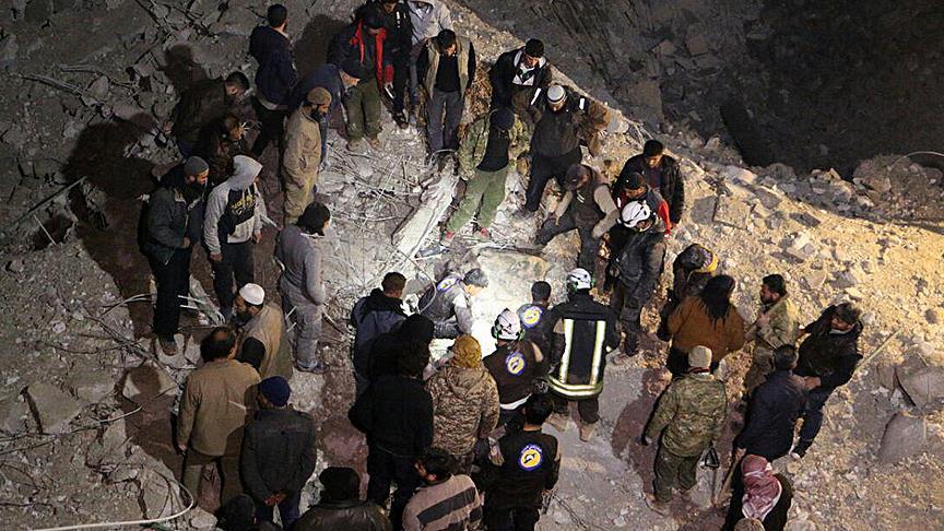 US strike on Syrian mosque a 'war crime', Turkey says