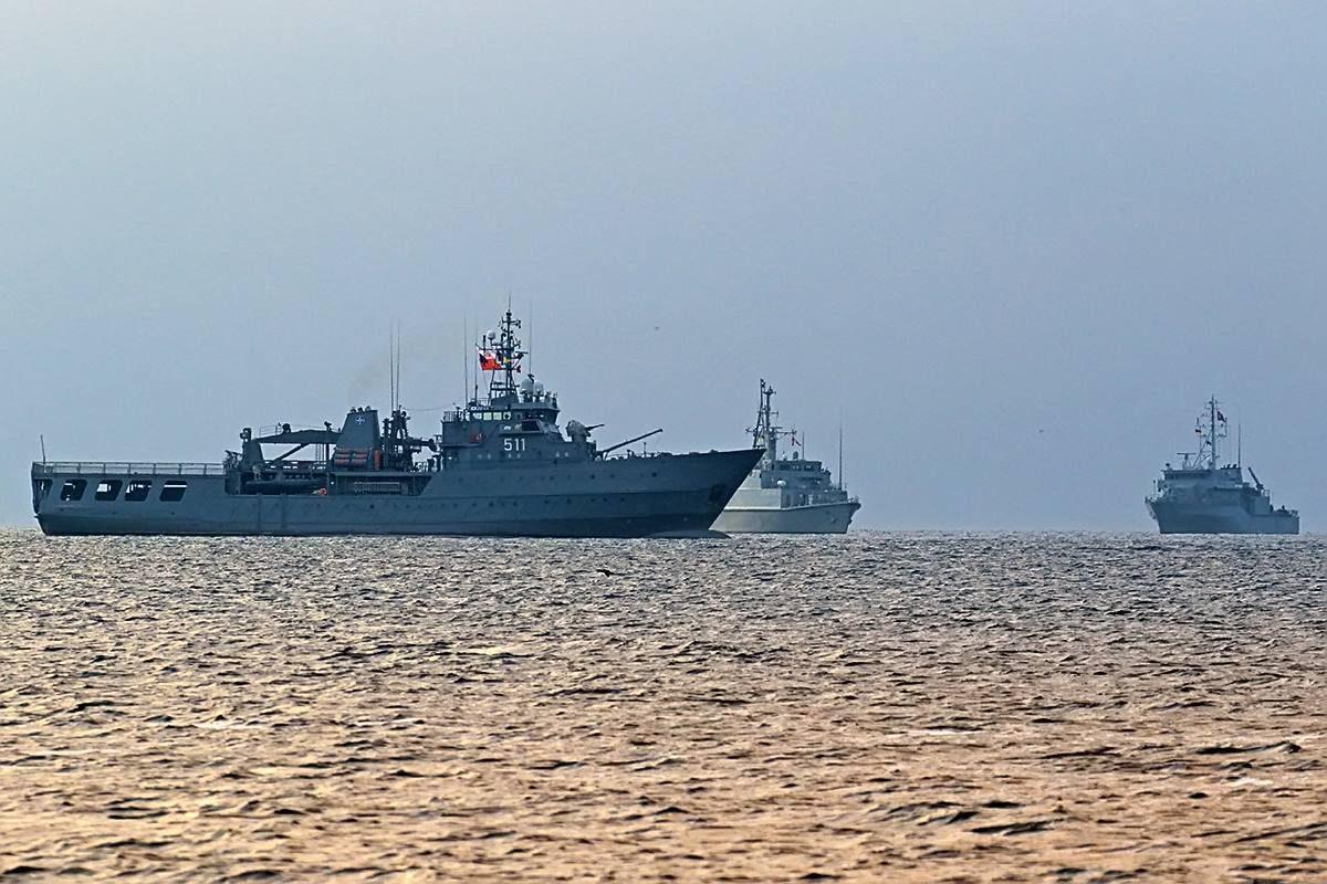 NATO ships arrived in Odesa
