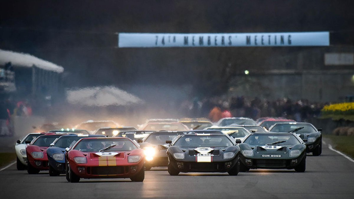 Sideways mustangs and 100-year old cars going toe to toe: the best ...