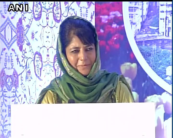 If you want to fight terrorism  and pay tribute to dead...make it a point to visit Kashmir thats how you'll defeat them: Mehbooba Mufti, J&K CM