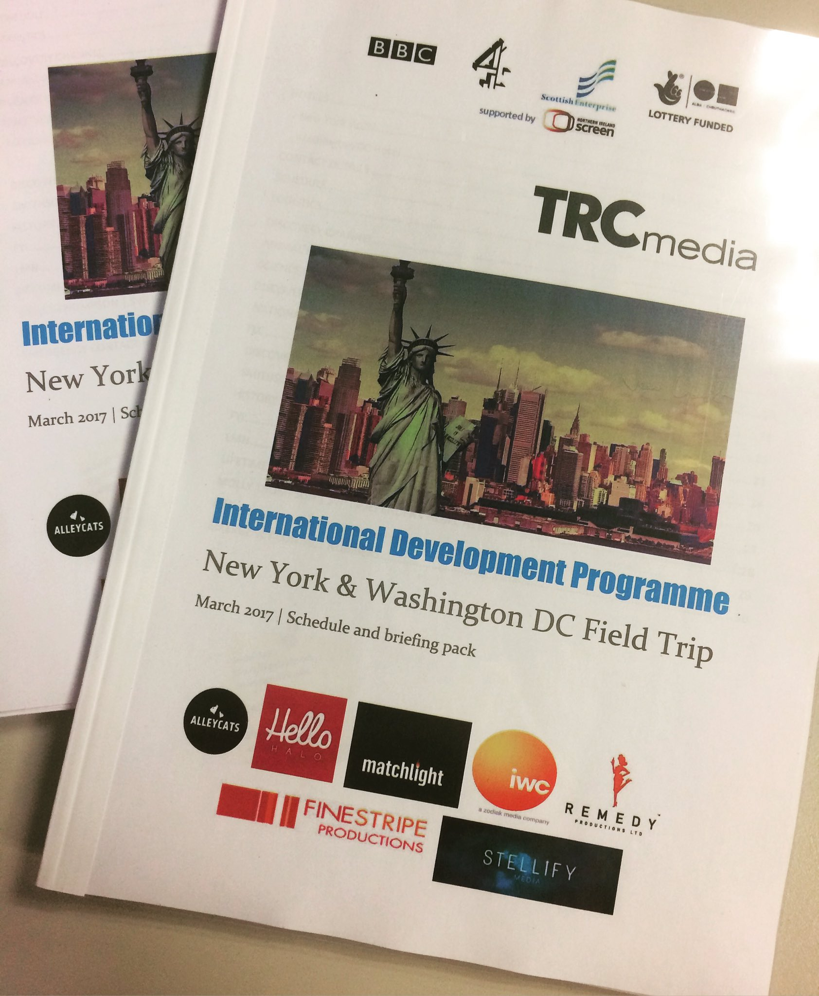 Start spreadin the news...The IDP delegates are heading to NY & DC today for meetings with top US channels 📺 #TRCidp https://t.co/oa1hzfk0nd