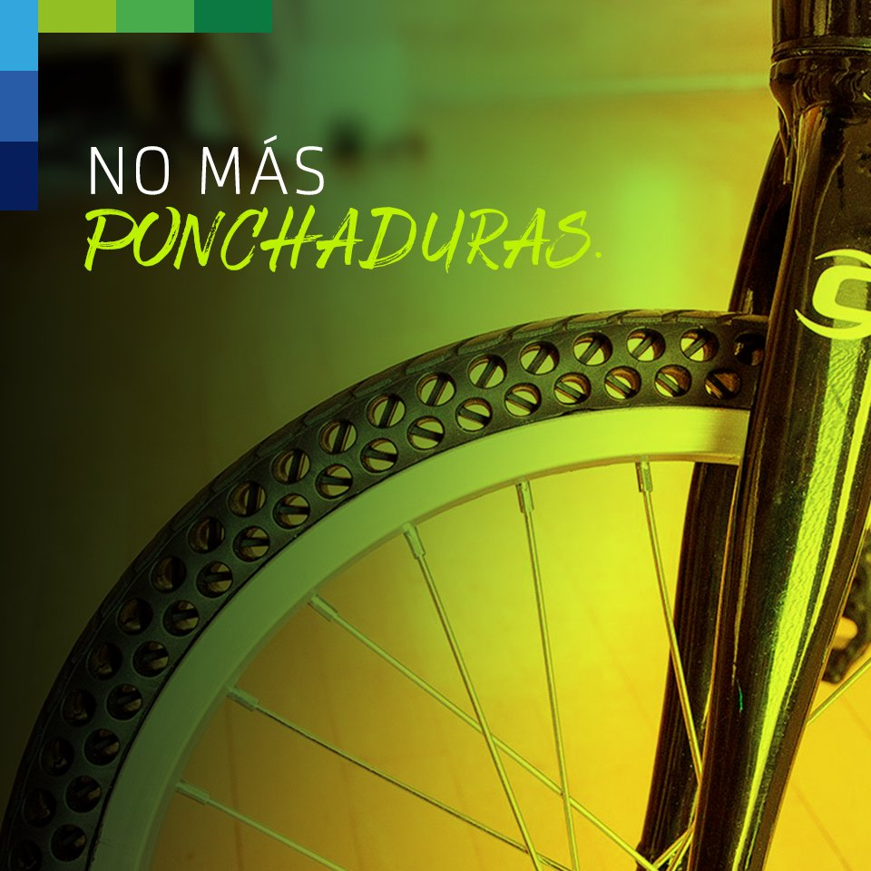 Buenas noticias las llantas de bicicleta que no se ponchan ya existen: https://t.co/VToWP0VuBC https://t.co/pIxPRar1TQ