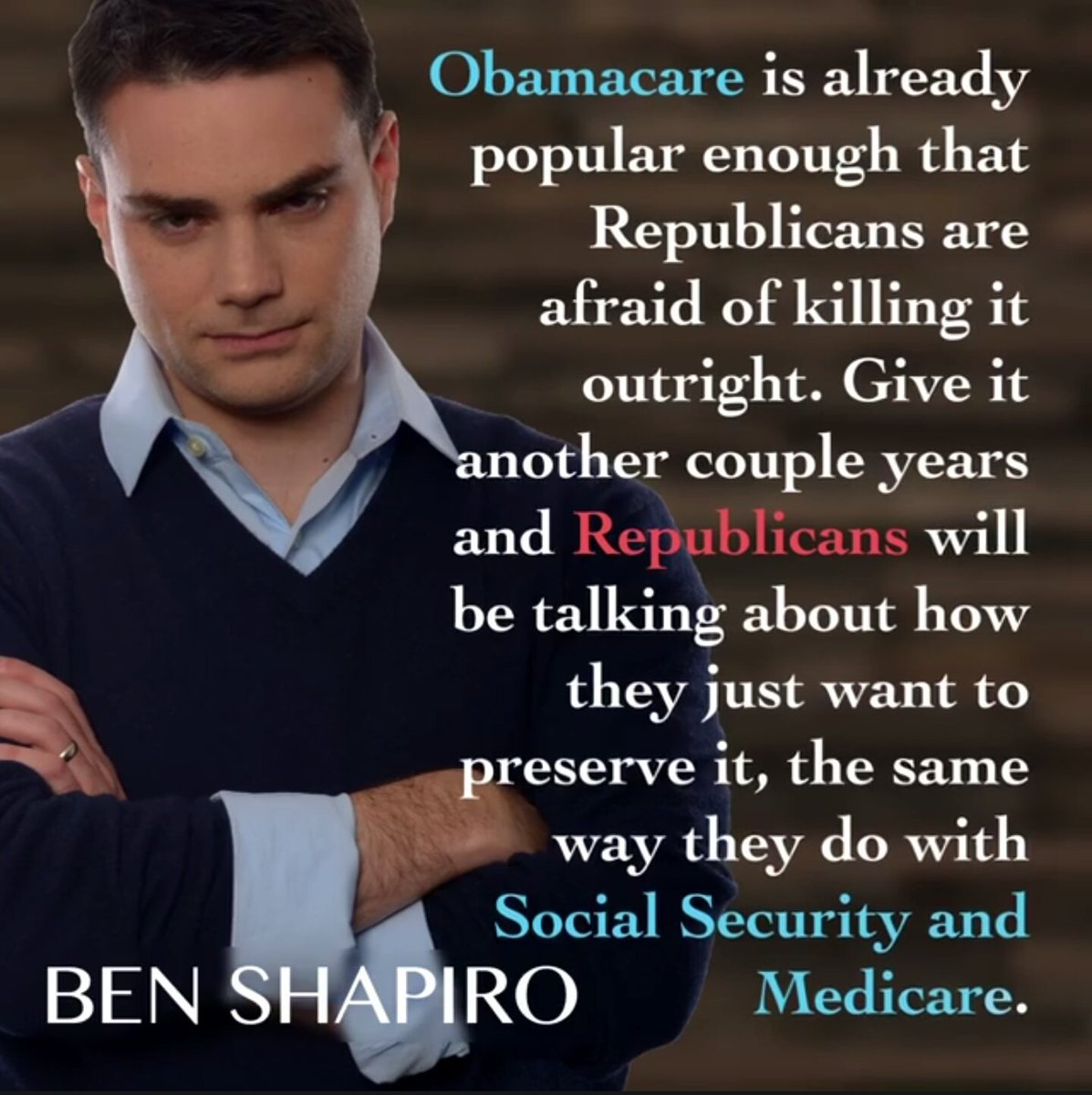 "Obamacare Quotes Ben Shapiro Quotes On Twitter ""httpst.cotxsfm09E3V"""