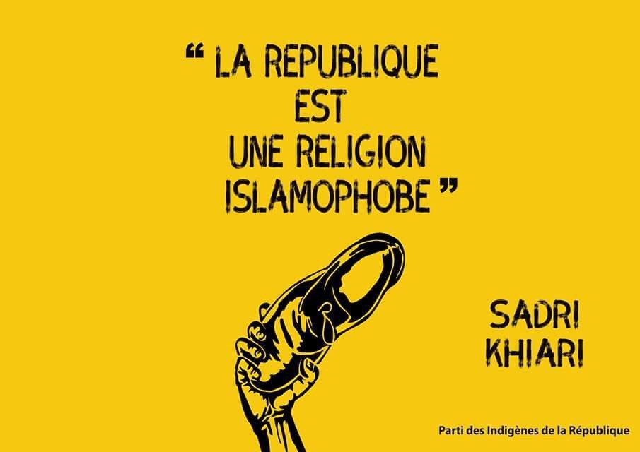 'La #République est une religion islamophobe', Sadri Khiari