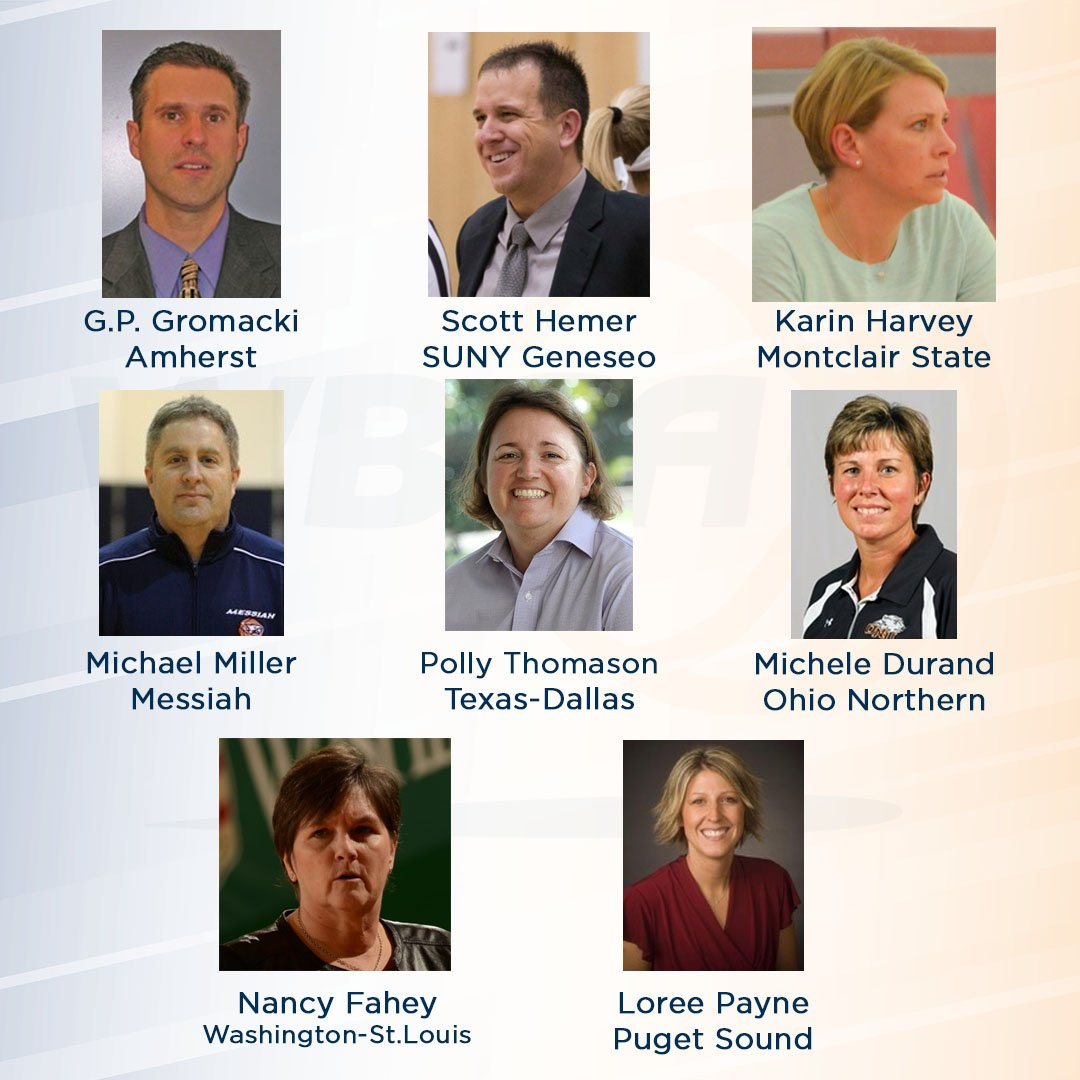 Congrats to the finalists for the @USMarineCorps WBCA NCAA DIII National Coach of the Year Award! The winner will be announced later today! https://t.co/dVUyFQCNx8