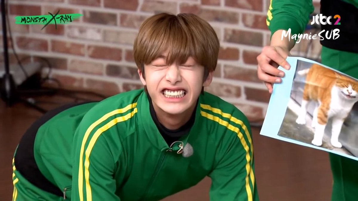 โอ้ยยยย คุณแชน่าร๊ากกก อยากจับมาเลี้ยงอ่ะฮือออ -/////- #Hyungwon #MONSTAXRAY <br>http://pic.twitter.com/3ot2Lhp7Oy