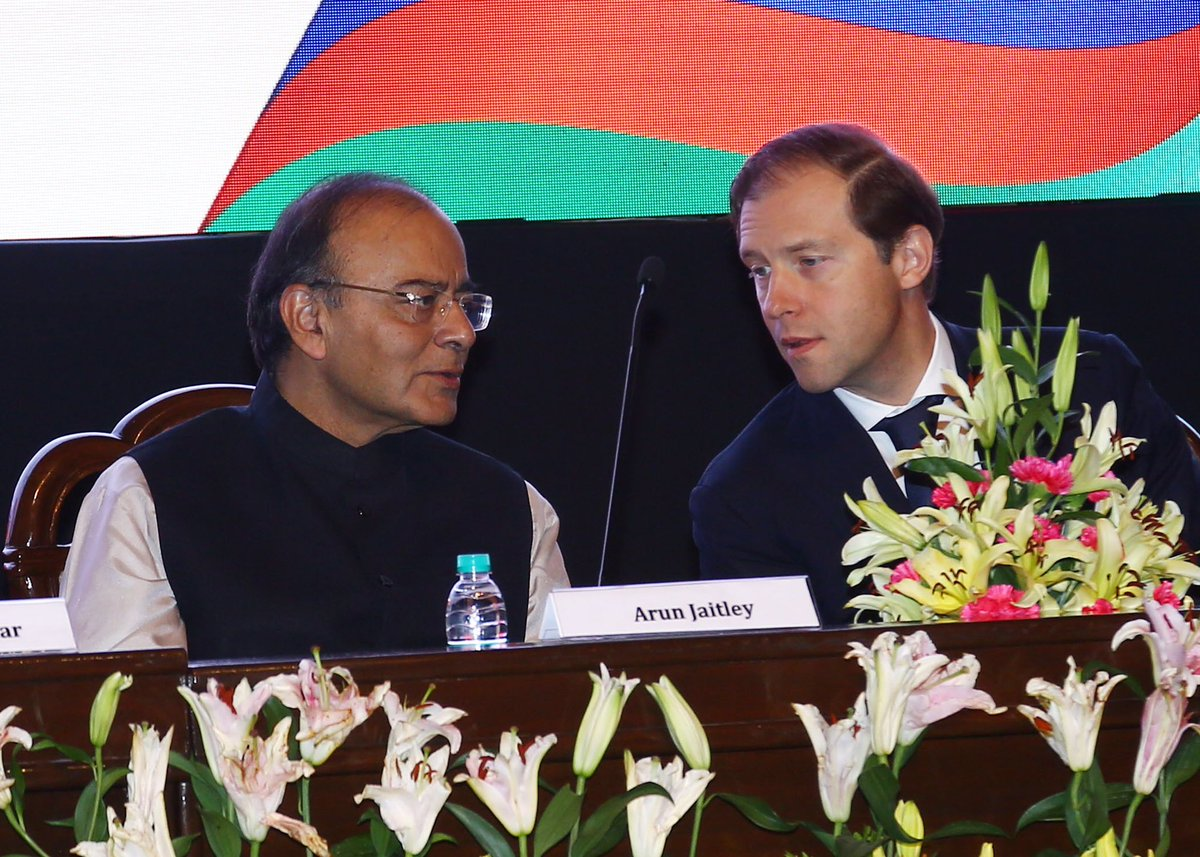 At the India-Russia Military Industrial Conference, New Delhi, March 1...