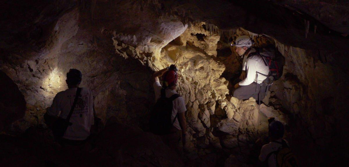 À la recherche de pièges à fossiles, une vidéo #CNRSleJournal avec @lemondefr   http:// bit.ly/2n6484W  &nbsp;  <br>http://pic.twitter.com/iv7yVsF8SK