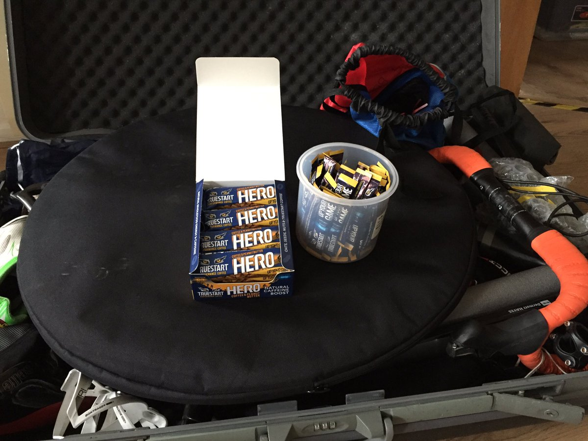 RT @BeEndurance: Bike packed for #Majorca tri camp + #performancecoffee thanks to @TrueStartCoffee https://t.co/NZDR9PBwVN