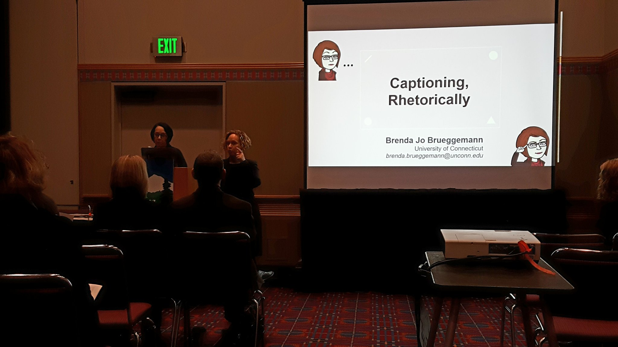 Brenda Jo Brueggemann: Captioning Rhetorically #4C17 #F46 https://t.co/R7DaJWt8rK