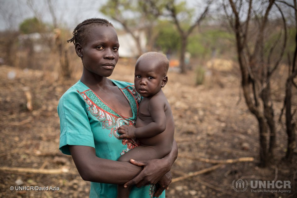 1.6 Million people have fled violence and hunger in South Sudan. The rate of new displacement is alarming