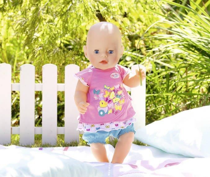 zapf creation baby born кукла интерактивная 43 см