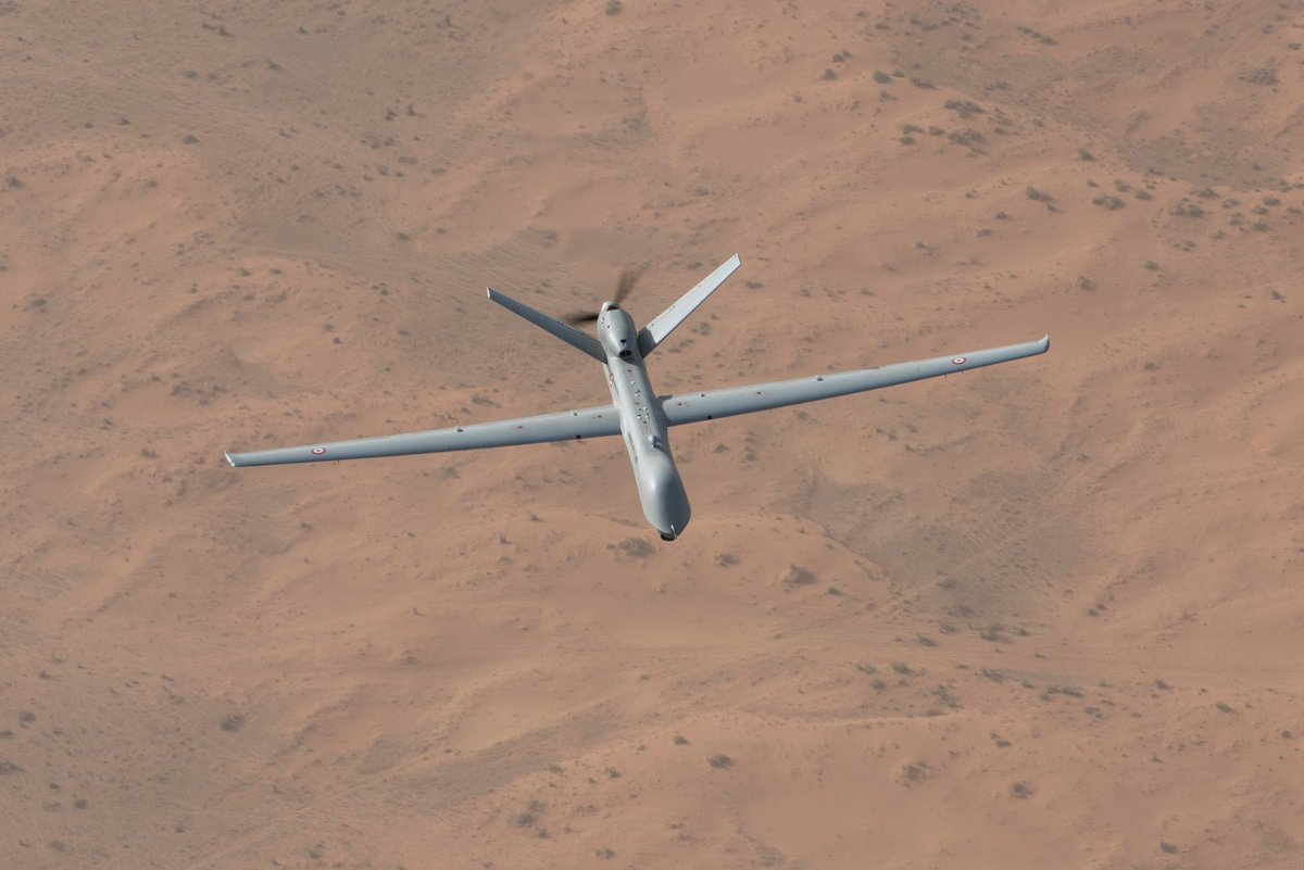 Reinforcement of 5 Reaper drones joined operation Barkhane