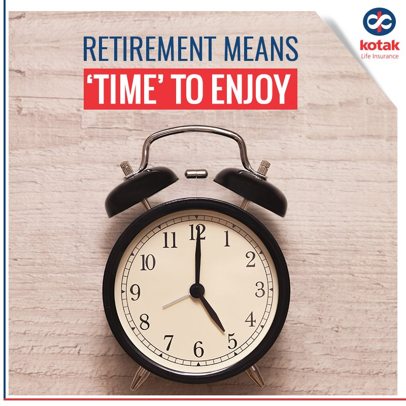 Kotak Life Insurance On Twitter Don T Run Out Of Time On Your