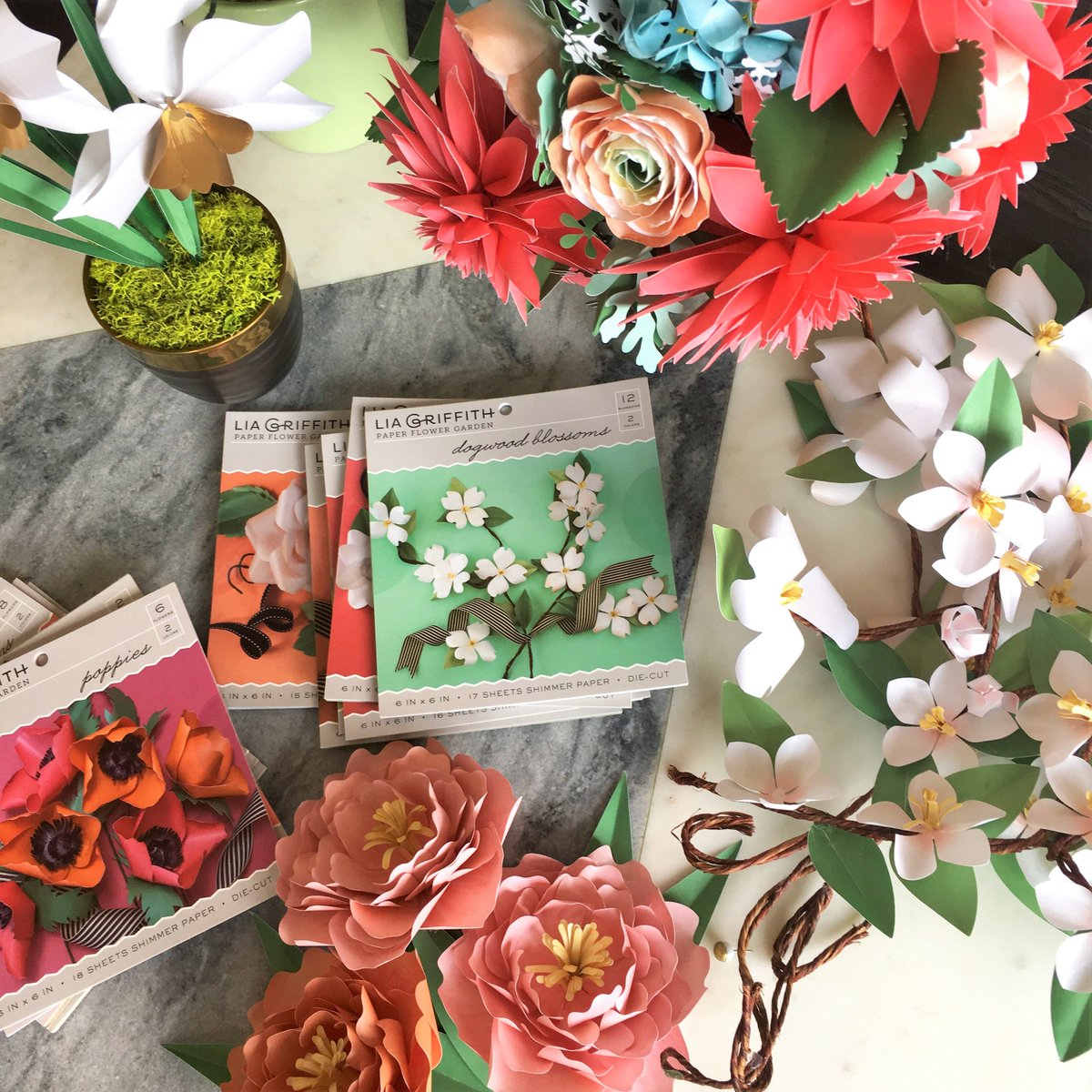 Lia Griffith On Twitter Our Paper Flower Kits In Joann Stores Are