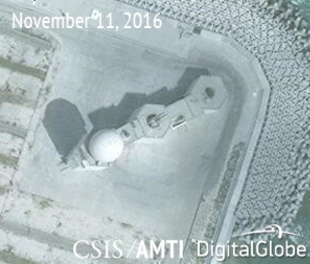 Satellite images show China fortifying its close-in point-defense capabilities in the Spratlys