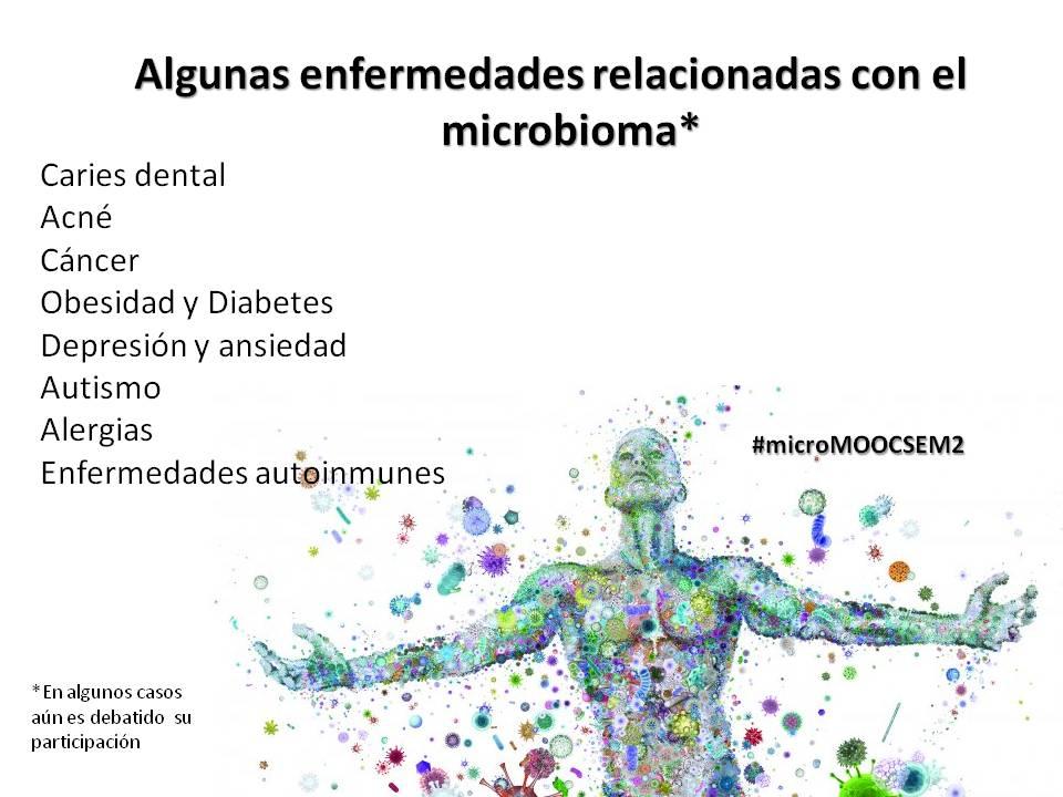 Si nuestro microbioma funciona como  un ecosistema, cuando este pierde el balance se conduce a enfermedades #microMOOCSEM2 https://t.co/LHiao7eNvu