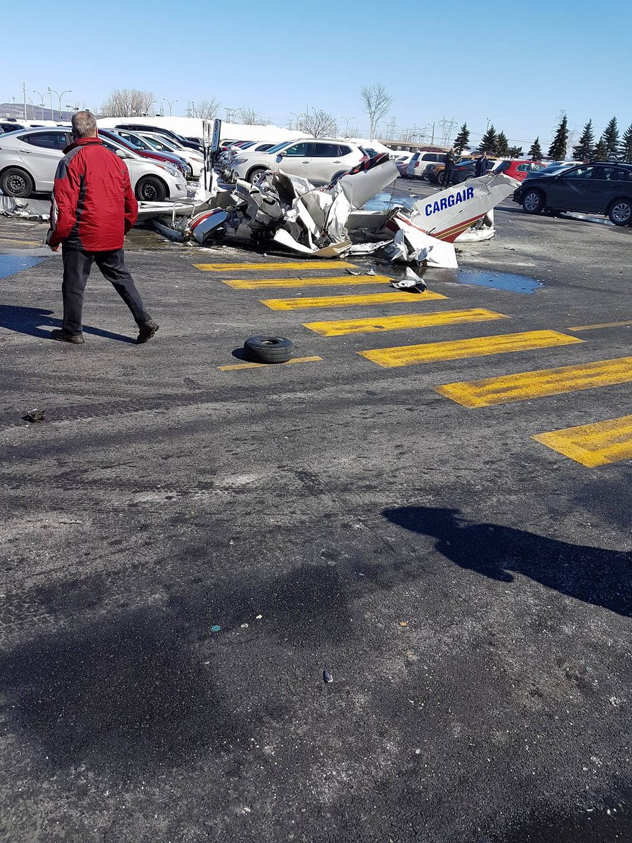 1 killed in a mid-air collision between two aircraft at Saint-Bruno-de-Montarville