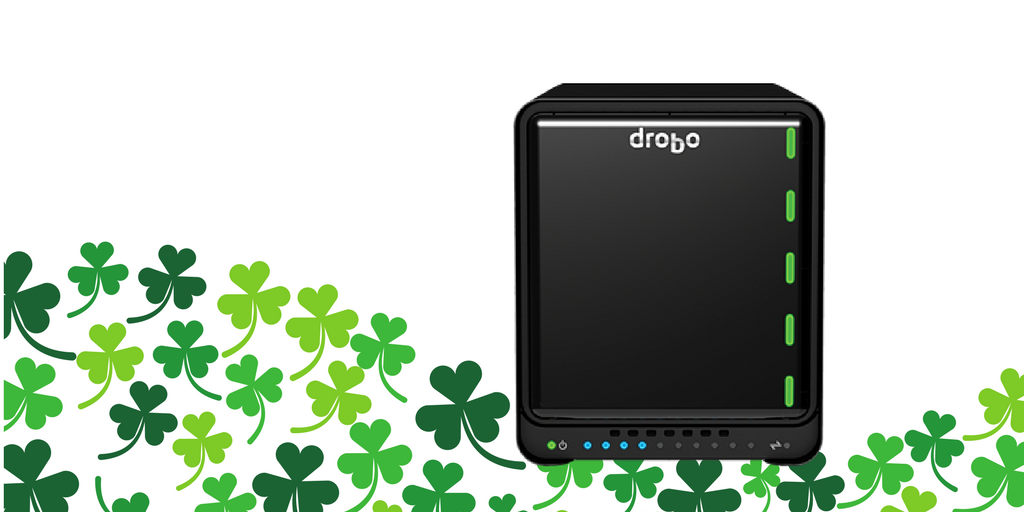Feeling lucky? RT and follow us to WIN a Drobo 5N! We will choose 1 lucky winner #StPatricksDay https://t.co/8RVmYGc2SY