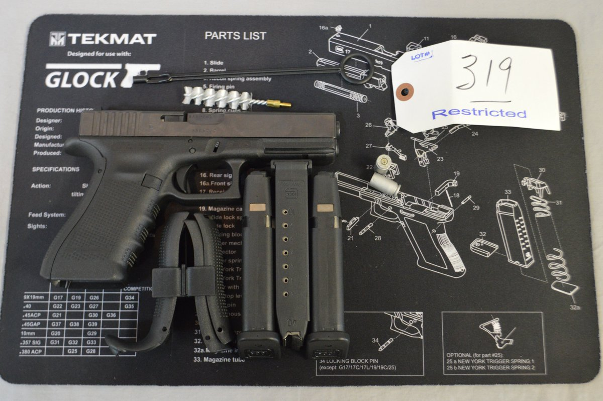 Glock 22 gen4 40 cal up for sale in our upcoming firearms auction on april 22nd https wardsauctions com auctions html auction glockpic twitter com