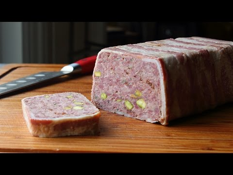 Pâté de Campagne Recipe – How to Make a Country-Style Pâté #FoodWishes #Recipes