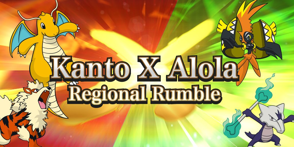 The Kanto x Alola Regional Rumble is under way! How are your battles g...