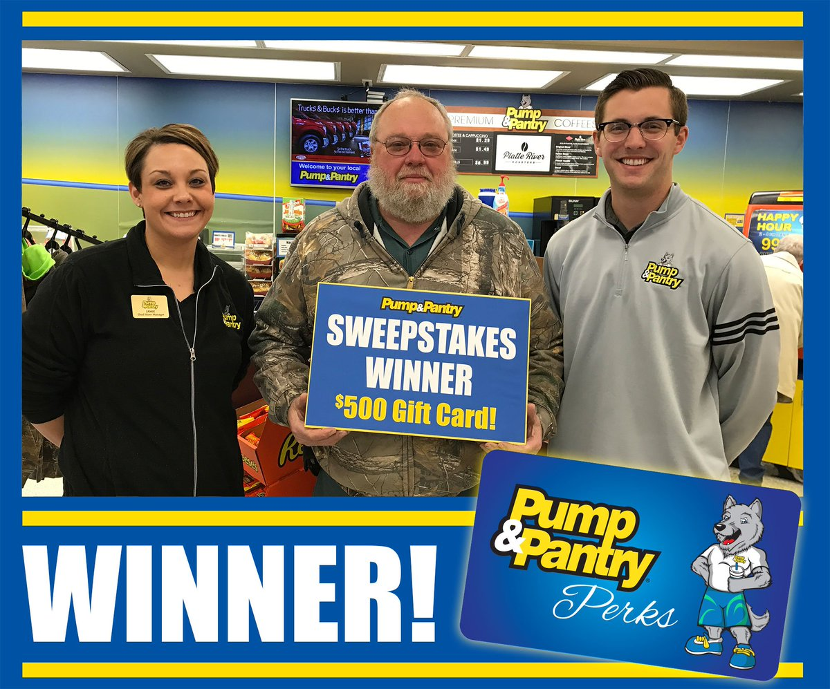 Pump And Pantry >> Pump Pantry On Twitter Winners Tanya From Kearney And