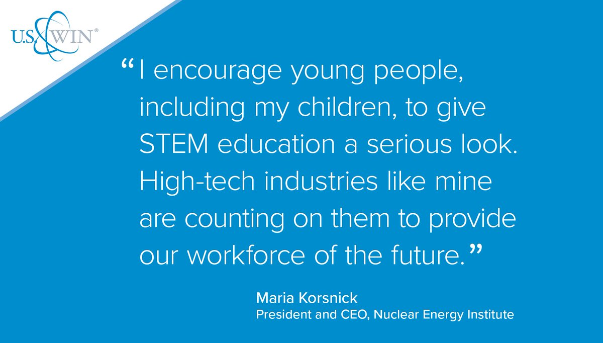 NEI&#39;s Korsnick: Give #STEM education a serious look, industries like #nuclear are counting on it.  http:// bit.ly/2mDVQ0J  &nbsp;  <br>http://pic.twitter.com/IlNYi0gjsy