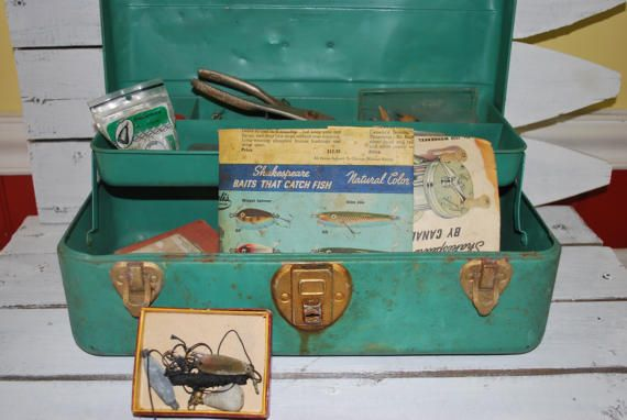 Going Fishing ?  http:// buff.ly/2mRuvJy  &nbsp;   #antique #green #fishing #sports #outdoor #fish #forhim #wiseshopper<br>http://pic.twitter.com/7DaMehVbFN