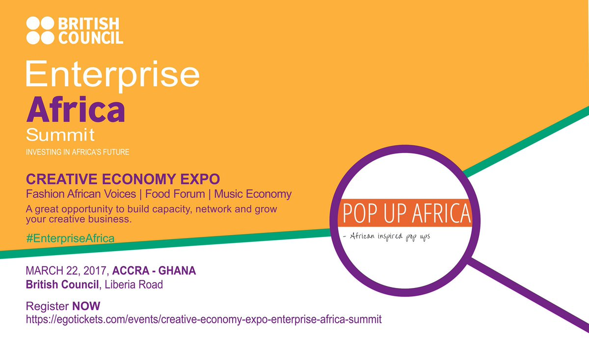 Really looking forward to speaking on #foodblogging &amp; food photography at #EnterpriseAfrica by @ghBritish &amp; PopupAfrica.<br>http://pic.twitter.com/EqDSbKgHnt