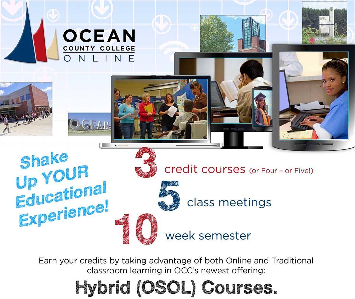 College Online Classes: Ocean County College Online Classes